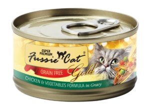Copy of Fussie Cat Super Premium Chicken and Vegetables Formula In Gravy 2.8oz - Bakersfield Pet Food Delivery