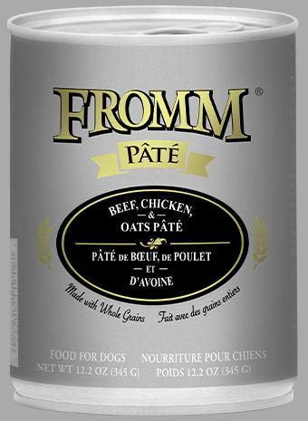 Fromm Beef, Chicken & Oats Pate Pate 12oz - Bakersfield Pet Food Delivery