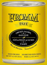 Load image into Gallery viewer, Fromm Chicken, Salmon & Oats Pate 12oz - Bakersfield Pet Food Delivery