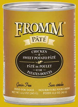 Load image into Gallery viewer, Fromm Chicken & Sweet Potato Pate 12oz - Bakersfield Pet Food Delivery