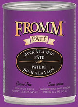 Load image into Gallery viewer, Fromm Duck A La Veg Pate 12oz - Bakersfield Pet Food Delivery