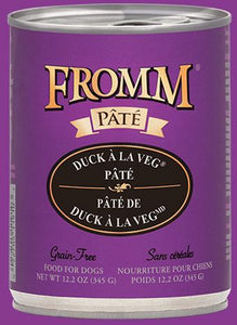 Fromm Duck A La Veg Pate 12oz - Bakersfield Pet Food Delivery