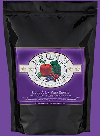 Fromm Four-Star Duck A La Veg for Dogs - Bakersfield Pet Food Delivery