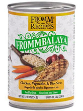 Load image into Gallery viewer, Fromm Frommbalaya Chicken, Vegetable, & Rice Stew 12oz - Bakersfield Pet Food Delivery
