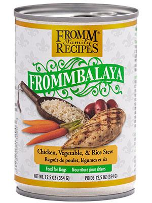 Fromm Frommbalaya Chicken, Vegetable, & Rice Stew 12oz - Bakersfield Pet Food Delivery