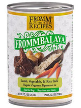 Load image into Gallery viewer, Fromm Frommbalaya Lamb, Vegetable, & Rice Stew 12oz - Bakersfield Pet Food Delivery