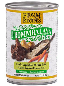 Fromm Frommbalaya Lamb, Vegetable, & Rice Stew 12oz - Bakersfield Pet Food Delivery