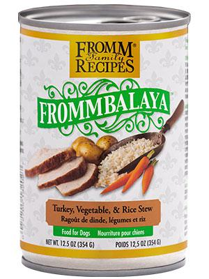 Fromm Frommbalaya Turkey, Vegetable, & Rice Stew 12oz - Bakersfield Pet Food Delivery
