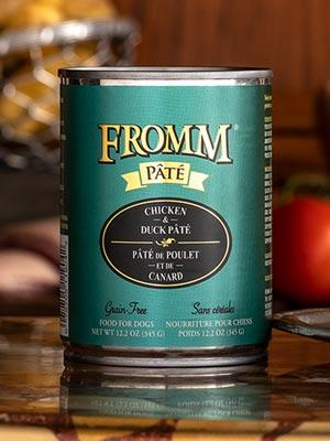 Fromm Gold Chicken & Duck Pate 12oz - Bakersfield Pet Food Delivery