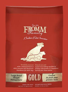 Fromm Gold Large Breed Weight Management for Dogs - Bakersfield Pet Food Delivery