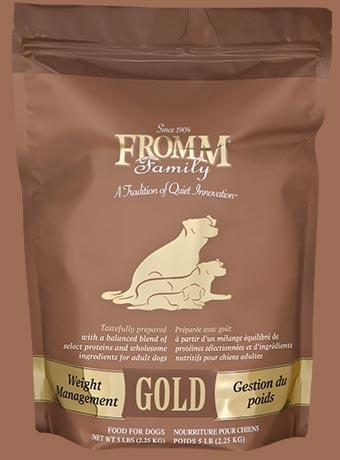 Fromm Gold Weight Management Gold - Bakersfield Pet Food Delivery