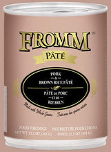 Load image into Gallery viewer, Fromm Pork & Brown Rice Pate 12oz - Bakersfield Pet Food Delivery
