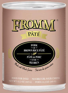 Fromm Pork & Brown Rice Pate 12oz - Bakersfield Pet Food Delivery