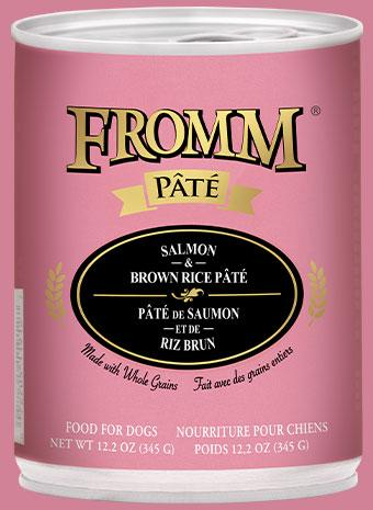 Fromm Salmon & Brown Rice Pate 12oz - Bakersfield Pet Food Delivery