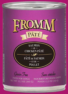 Fromm Salmon & Chicken Pate 12oz - Bakersfield Pet Food Delivery