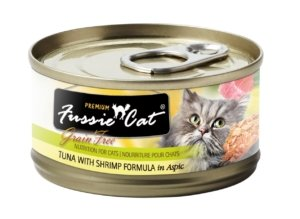 Fussie Cat Premium Tuna with Shrimp Formula In Aspic 2.8oz - Bakersfield Pet Food Delivery