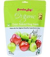 Grandma Lucy's Organic Apple Biscuits 14oz - Bakersfield Pet Food Delivery