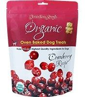Grandma Lucy's Organic Cranberry Biscuits 14oz - Bakersfield Pet Food Delivery