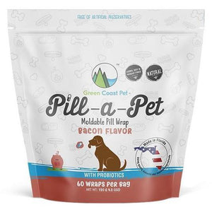 Green Coast Pet Pill a Pet Bacon 4.2oz - Bakersfield Pet Food Delivery