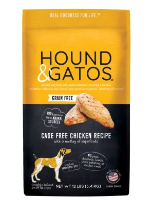 Hound & Gatos Grain Free Cage Free Chicken - Bakersfield Pet Food Delivery