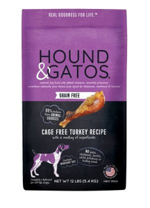 Hound & Gatos Grain Free Cage Free Turkey - Bakersfield Pet Food Delivery