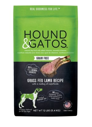 Hound & Gatos Grain Free Grass Fed Lamb - Bakersfield Pet Food Delivery