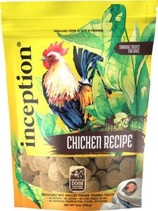 Inception Chicken Recipe Training Treat 12oz - Bakersfield Pet Food Delivery