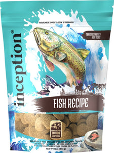 Inception Fish Recipe Training Treat 12oz - Bakersfield Pet Food Delivery