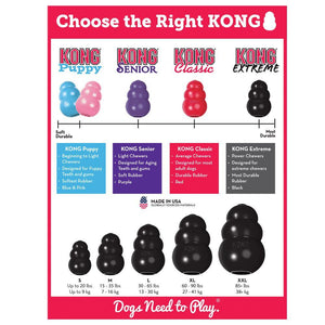 KONG Extreme Black - Bakersfield Pet Food Delivery