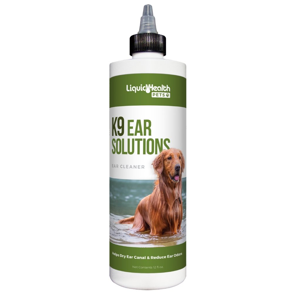 Liquid Health Ear Solution 12oz - Bakersfield Pet Food Delivery