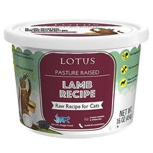 Load image into Gallery viewer, Lotus Cat Raw Food Lamb Recipe - Bakersfield Pet Food Delivery