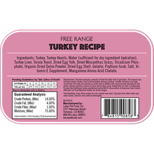 Load image into Gallery viewer, Lotus Cat Raw Food Turkey Recipe - Bakersfield Pet Food Delivery
