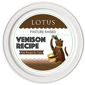 Lotus Cat Raw Food Venison Recipe - Bakersfield Pet Food Delivery