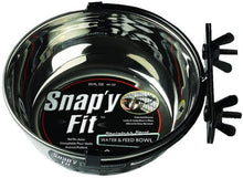 Load image into Gallery viewer, Midwest Stainless Steel Snappy Fit Bowl - Bakersfield Pet Food Delivery