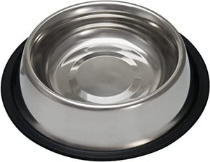 No Tip Stainless Steel Bowl - Bakersfield Pet Food Delivery