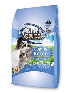 NutriSource Cat & Kitten Chicken Meal, Salmon & Liver - Bakersfield Pet Food Delivery