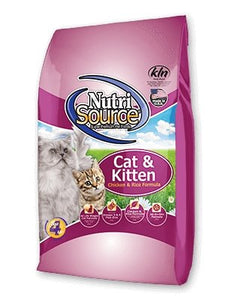 NutriSource Cat & Kitten Chicken & Rice - Bakersfield Pet Food Delivery