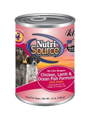 NutriSource Chicken, Lamb & Ocean Fish Dog - Bakersfield Pet Food Delivery