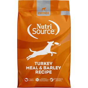 NutriSource Choice Turkey Meal & Barley Recipe - Bakersfield Pet Food Delivery
