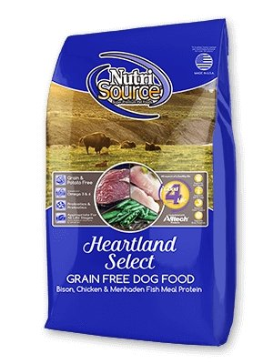 NutriSource Grain-Free Heartland Select for Dogs - Bakersfield Pet Food Delivery
