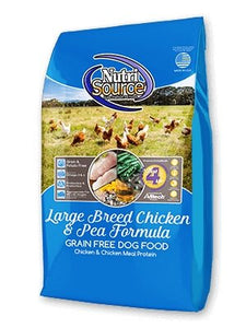 NutriSource Grain-Free Large Breed Chicken & Pea for Dogs - Bakersfield Pet Food Delivery