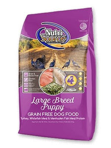 NutriSource Grain-Free Large Breed Puppy - Bakersfield Pet Food Delivery