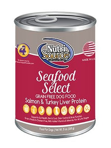 NutriSource Grain Free Seafood Select Dog - Bakersfield Pet Food Delivery