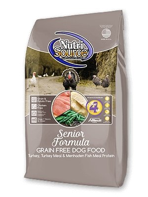 NutriSource Grain-Free Senior for Dogs - Bakersfield Pet Food Delivery