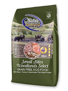 NutriSource Grain-Free Small Bite Woodlands Select for Dogs - Bakersfield Pet Food Delivery