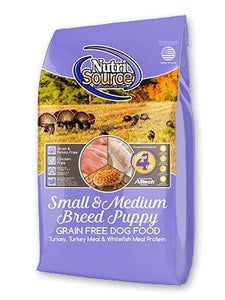 NutriSource Grain-Free Small/Medium Breed Puppy - Bakersfield Pet Food Delivery
