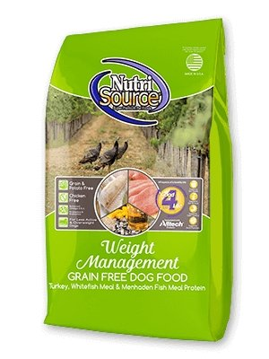 NutriSource Grain-Free Weight Management for Dogs - Bakersfield Pet Food Delivery