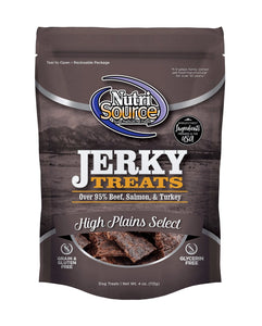 Nutrisource Jerky Treats 4oz - Bakersfield Pet Food Delivery