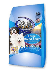 NutriSource Large Breed for Dogs Adult Chicken & Rice - Bakersfield Pet Food Delivery