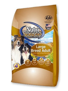 NutriSource Large Breed for Dogs Lamb & Rice - Bakersfield Pet Food Delivery